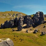 Amazing Rock Formation Panorama