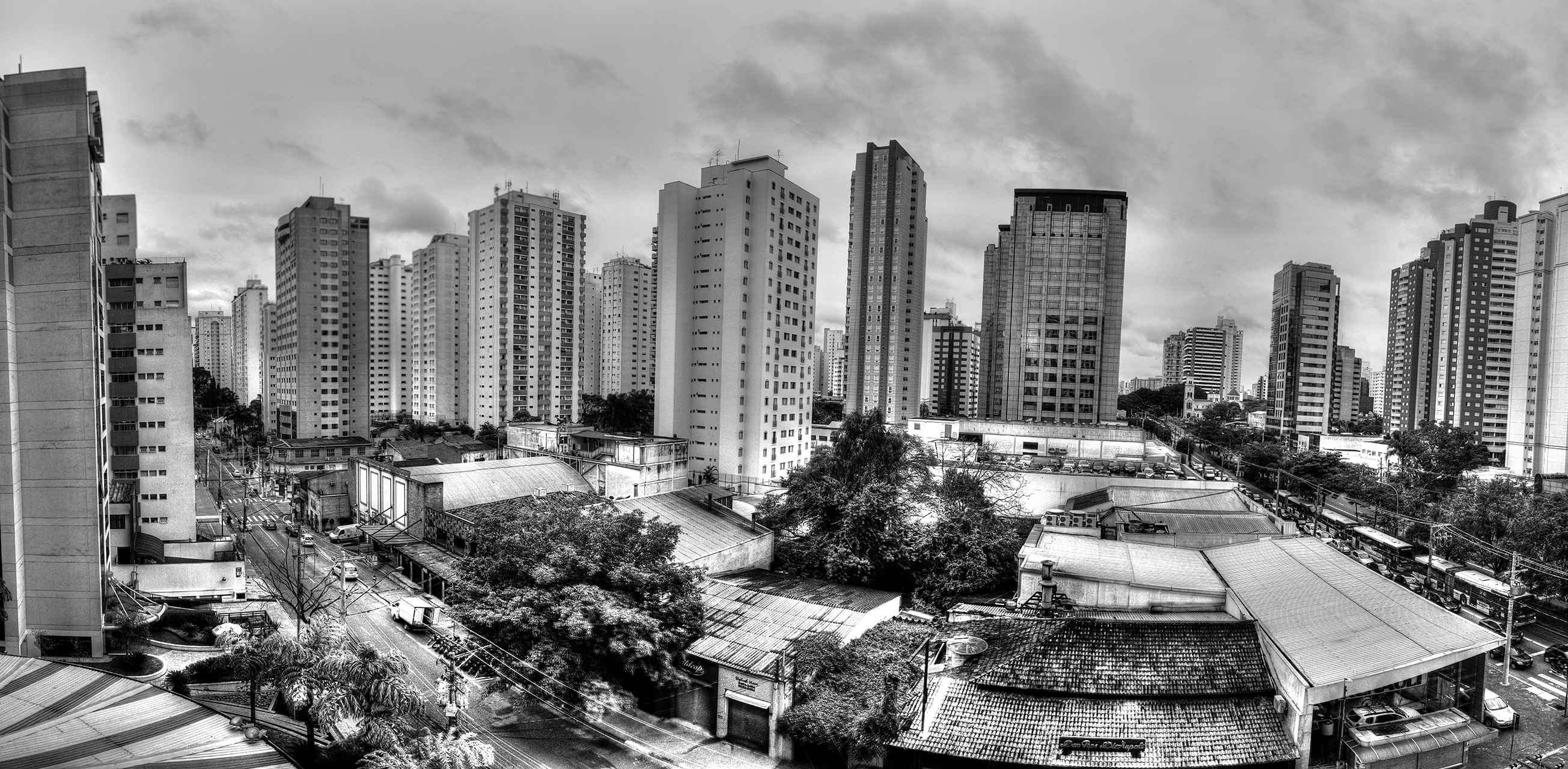 Sao Paulo from my hotel window