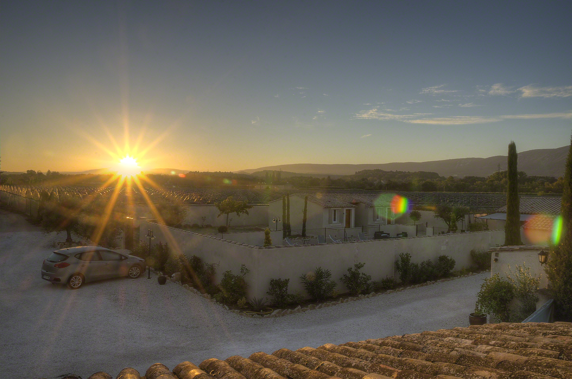 sunrise in Provence